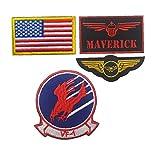 Marine-Flug-Anzug Armband Moral Abzeichen Stickerei Aufkleber Aufnäher Für Caps Rucksack Jacke Militäruniformen 4pcs