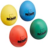 NINO ニノ エッグシェイカー4個セット NINO SET540 赤色 黄色 緑色 青色 【国内正規品】