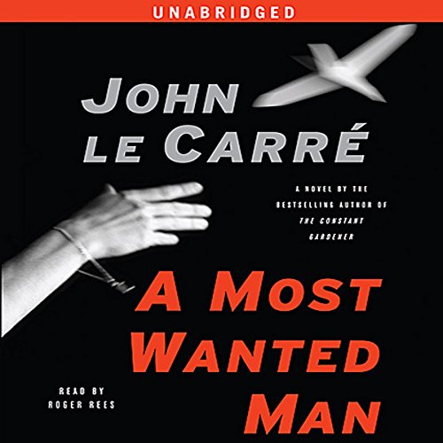 A Most Wanted Man audiobook cover art
