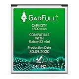 GadFull Batería de reemplazo para Samsung Galaxy S3 Mini | 2020 Fecha de producción| Corresponde...