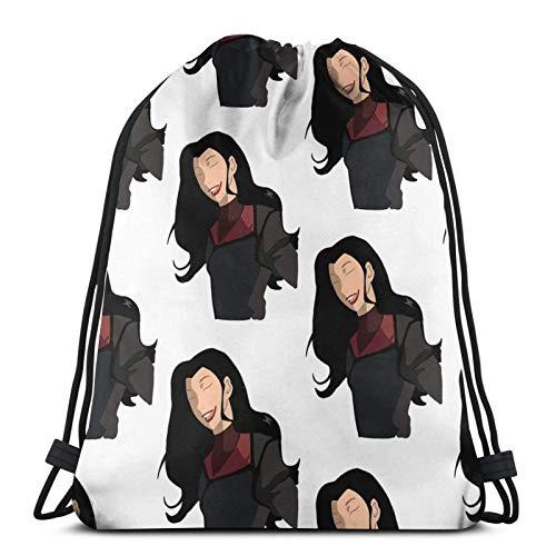 Anime & & Asami Die Legende von Kora Tapisserie - & Pfund; & uml; 1 & Pfund; Drawstg Bag Sports Fitn Bag Reisetasche Geschenktüte