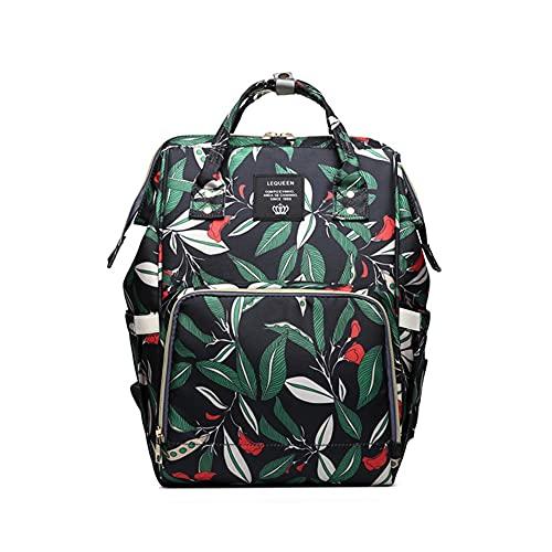 Bolsa para pañales de bebé, moderna, multifuncional, mochila de viaje, gran capacidad, para el cuidado del bebé, a, 40*26*17cm