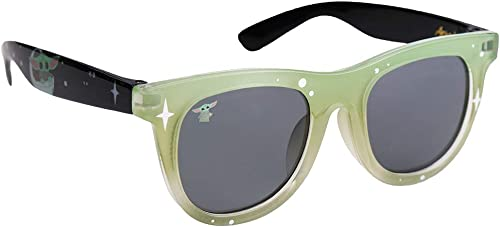 Sun-Staches Officially Licensed Star Wars The Mandalorian The Child Space Wayfarer Arkaid Sunglasses UV400 Multicolor one Size (SG3921)