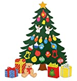 JUMBL™ Christmas Decoration. Animated Tree Magnet Set. Perfect for Winter Decorations. Fridge, Metal Door, Garage, Classroom. Give as Gift. Ornament Décor.