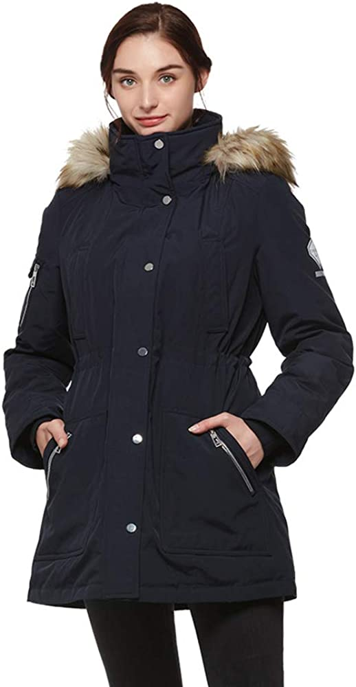 universo Women's Sale special price Heavy Duty Down Jacket Fur with Removable Parka Baltimore Mall