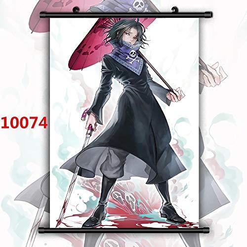 Aya611 Hunter Phantomtruppe Hisoka Chrollo Luzifer Feitan Machi Shizuku Anime Manga HD-Druck Wandplakatrolle 40x60cm 10074