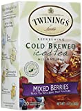 Twinings Cold Brewed Iced Tea Mixed Berries - 20 Tea Bags