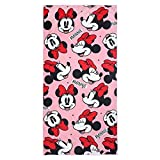CERDÁ LIFE'S LITTLE MOMENTS 2200003990 Toalla Polyester Minnie, Rosa, 70x140cm