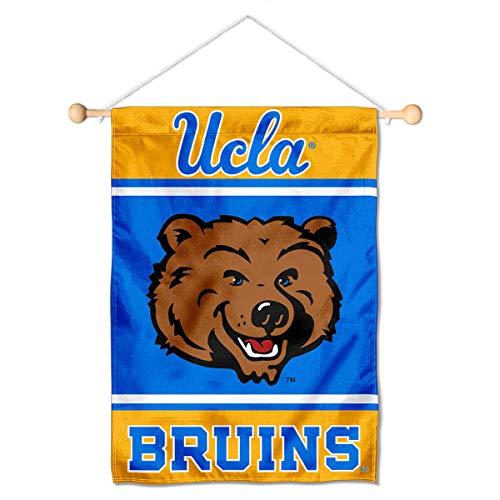 UCLA Mini Small Banner and Banner Pole Bundle
