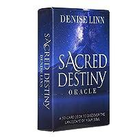 Sacred Destiny EGuideブック付きの完全英語版のタロットデッキEinstructionカードゲーム占いゲームは運命予測カードゲームを設定します