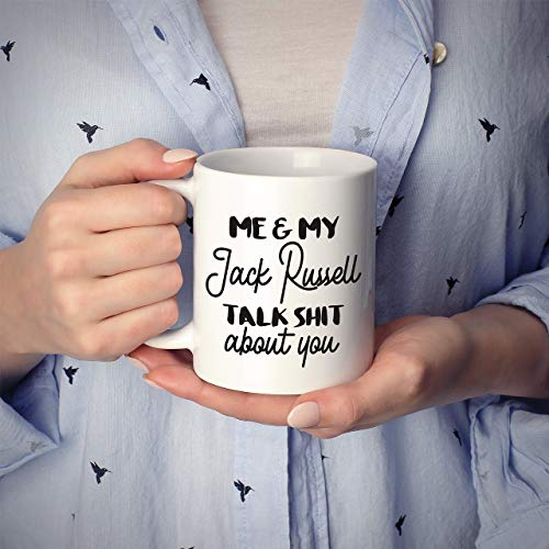 N\A Taza de Jack Russell, Taza de Jack Russell Terrier, Regalo de Jack Russell, Regalo del Propietario de Jack Russell, Taza de Amante de Jack Russell, mamá de Jack Russell, papá de Jack Russell