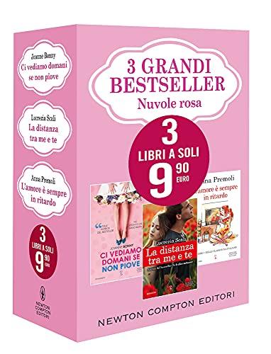 3 grandi bestseller. Nuvole rosa: Ci vediamo domani se non piove-La distanza tra me e te-L'amore è sempre in ritardo