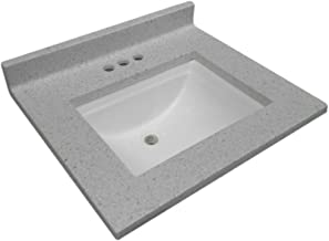 Design House 563528 CULTURED MARBLE VANITY TOP, 25