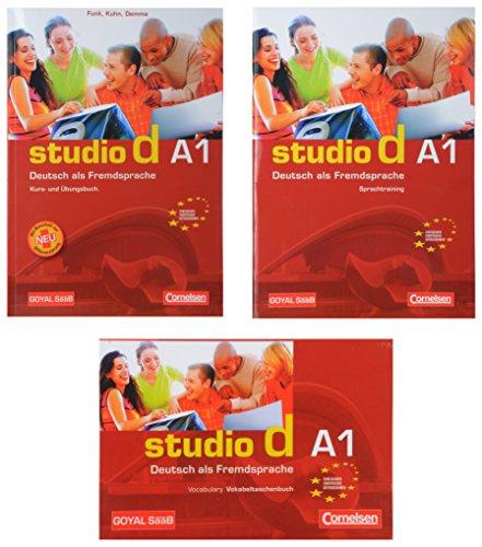 Studio-D A1 - Combo of 3 (German)