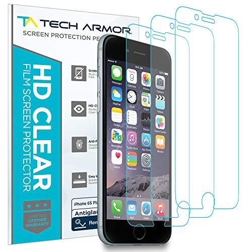 Tech Armor Matte Anti-Glare/Anti-Fingerprint Film Screen Protector for Apple iPhone 6S Plus/iPhone 6 Plus (5.5-inch) [3-Pack]