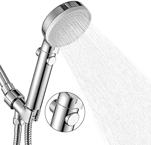 High Pressure Shower Head Hand held with ON Off Switch Shower Head with Handheld 3 Modes Handheld product image