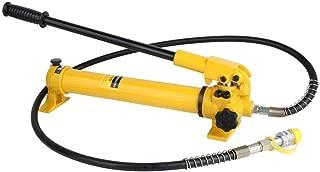 Hydraulic Hand Pump,2 Speed Power Pack Hose Coupler 10000 psi Hydraulic Oip Pump Hand Operated Pump Hydraulic Hand Pump Manual Pump CP-700 for Hydraulic Applications