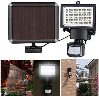 Amyove LED Lámpara de jardín de energía Solar al aire Libre a prueba de agua,