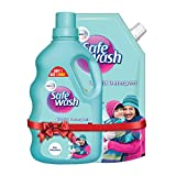 Safewash Liquid Detergent for Woollens, Shrink and Germ-Free 2L, Pack of 1 + 1