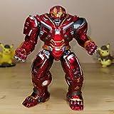 AMrjzr Fulian 4 Iron Toy Man Puede iluminar la Figura Anti-Hulk PVC Anime-24CM...