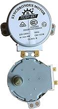 Pgige para Haier/Midea/Galanz - Placa giratoria de microondas con Motor síncrono de Vidrio (Plateado)