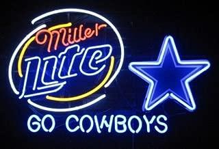 dallas cowboys miller lite beer can