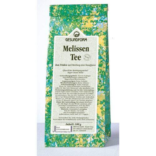 Gesundform Melissenblättertee Tee 100 Gramm