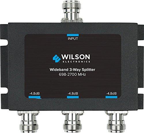 Wilson Electronics -4.8 dB 3-Way Splitter, N-Female (50 Ohm)