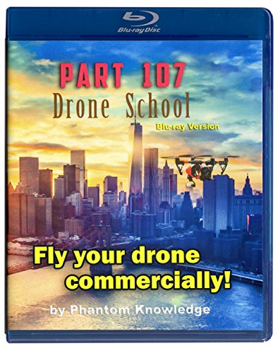 Part 107 Drone School Blu-ray