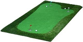 ゴルフ パター マット パッティング 練習 マット ゴルフパッティンググリーンシステムプロフェッショナル人工ポータブルグリーンミニ屋内パターエクササイザー環境オークバレーグリーン (色 : Portable, サイズ : 2*4m)