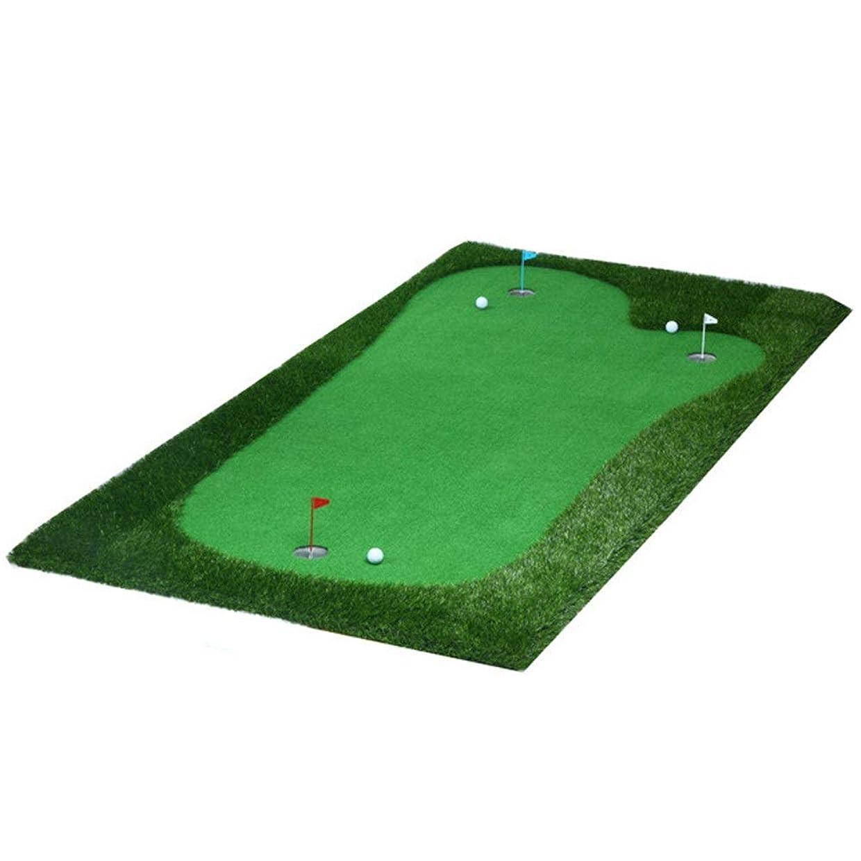 拍手ビーチ同様のパット練習器具 人工ポータブルグリーンミニ屋内パターエクササイザー環境オークバレーグリーンゴルフパッティンググリーンシステムプロフェッショナル (色 : Portable, サイズ : 1.5*3m)
