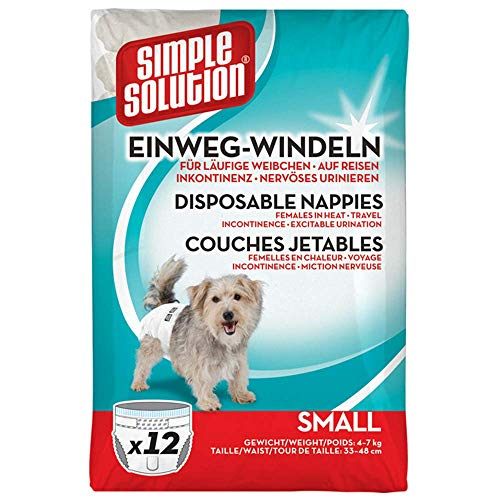 Simple Solution Hunde Windeln S