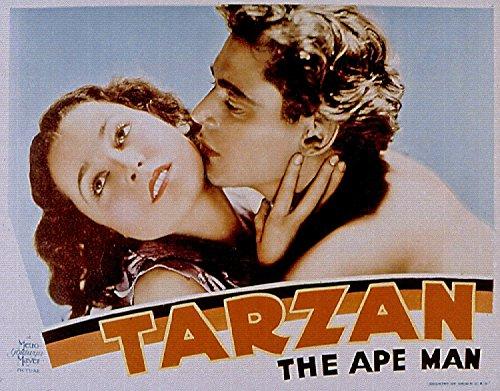 ODSAN Tarzan the Ape Man, 1932 - Foto-Reimpresión película Posters 24x19 pulgadas - sin marco