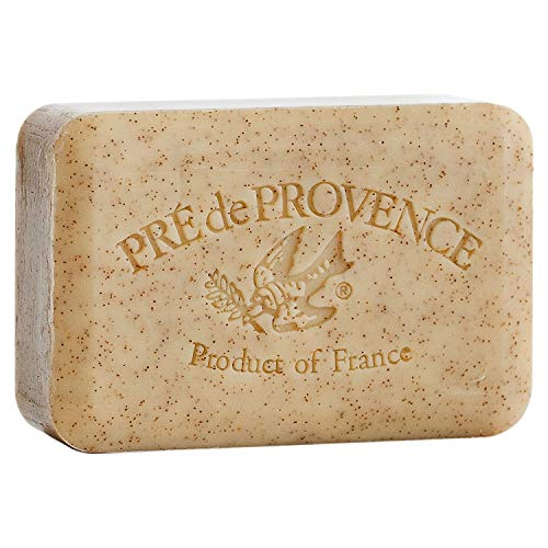 Pre de Provence Artisanal French Soap Bar Enriched with Shea Butter, Honey Almond, 250 Gram