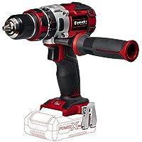 Einhell Expert TE-CD 18 Li-i - Taladro percutor sin cable (sin batería, 18 V, 2 velocidades, 60 Nm, luz LED, Power-X-Change) rojo