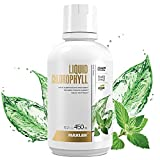 Maxler Chlorophyll Liquid Mint Flavor - Internal Deodorant for Body Odor & Bad Breath Supplement - Vegan Liquid Chlorophyll - 132 mg of Chlorophyllin per 1 Serving (15 Servings) - 15.2 fl oz