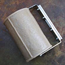 Walttools Concrete Stamp Roller Set for Decorative Borders (California Streetscape Brick) For Stamped Concrete & Overlay - Quick & Easy Way to Stamp Curves & Add Linear Features