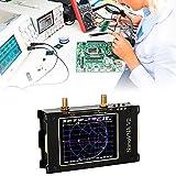 TOPQSC Analizador de Redes Vectoriales 50KHz-3GHz HF VHF UHF Analizador de Espectro 2000mAh Analizador de Antena Pantalla táctil LCD Digital de 3.2 Pulgadas Parámetros de Medición,Voltaje