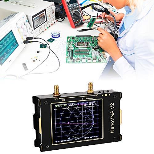 TOPQSC Analizador de Redes Vectoriales 50KHz-3GHz HF VHF UHF Analizador de Espectro...