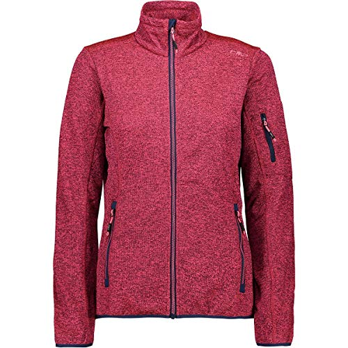 CMP Damen Knitted Mesh Jacke, Blue-Gloss, 36