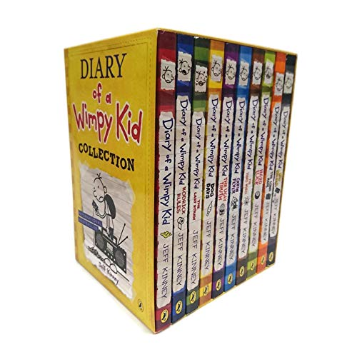 Diary of a Wimpy Kid Box Set Collection (10 Books)