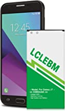 LCLEBM Galaxy J7 Prime Battery J7 Prime Battery 3380mAh Replacement Battery for Samsung Galaxy J7(2017), J7 EB-BJ710, J727, J727A, J727V, J727R4,J727T, J727T1,J7 Sky Pro,J7 Perx Battery