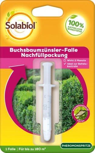 Preisvergleich Produktbild Solabiol Buchsbaumzünsler Falle Nachfüllpack 1 Stück