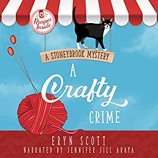 A Crafty Crime: A Stoneybrook Mystery cover art