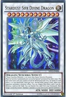 YU-GI-OH! - Stardust Sifr Divine Dragon (SHVI-EN096) - Shining Victories - 1st Edition - Ultra Rare