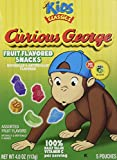 Curious George Fruit Flavored Snacks - 5 Pouches (pack of 6)