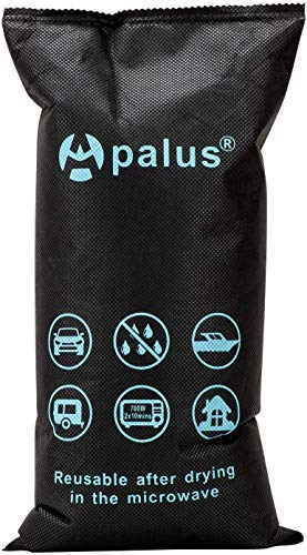 Apalus Luftentfeuchter Auto Wiederverwendbar, Entfeuchter-Kissen für Beschlagene Autoscheiben, Auto-Winter-Zubehör für Wohnmobile, Garage, Wohnung, Bad, Kleider-Schränke, Plus Antirutschmatte, 1kg