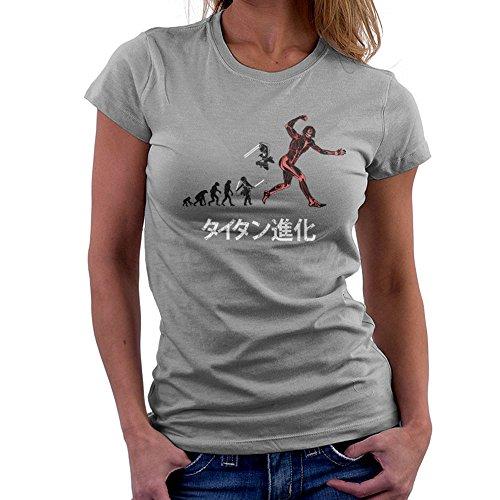 Cloud City 7 Titan Evolution Attack on Titan Eren Women's T-Shirt