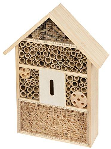 Kerbl 82985 Insektenschutz-Hotel, 27,5 x 9 x 39,5 cm