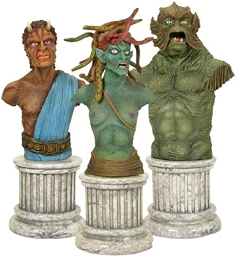 precios ultra bajos CLASH OF OF OF THE TITANS BUST 3 PACK COMIC CON EXCLUSIVE by Clash of the Titans  autorización oficial